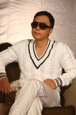 Hong Kong actor Donnie Yen is seen at a press conference for his film, IP Man II, during the 12th Shanghai International Film Festival, in Shanghai, China, Sunday, June 14, 2009.