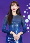 Tchajwanský modelkou a herečkou Lin Chi-ling účastní každoroční setkání pro skupinu Ginko v Šanghaji, Číně, 22 února 2019.