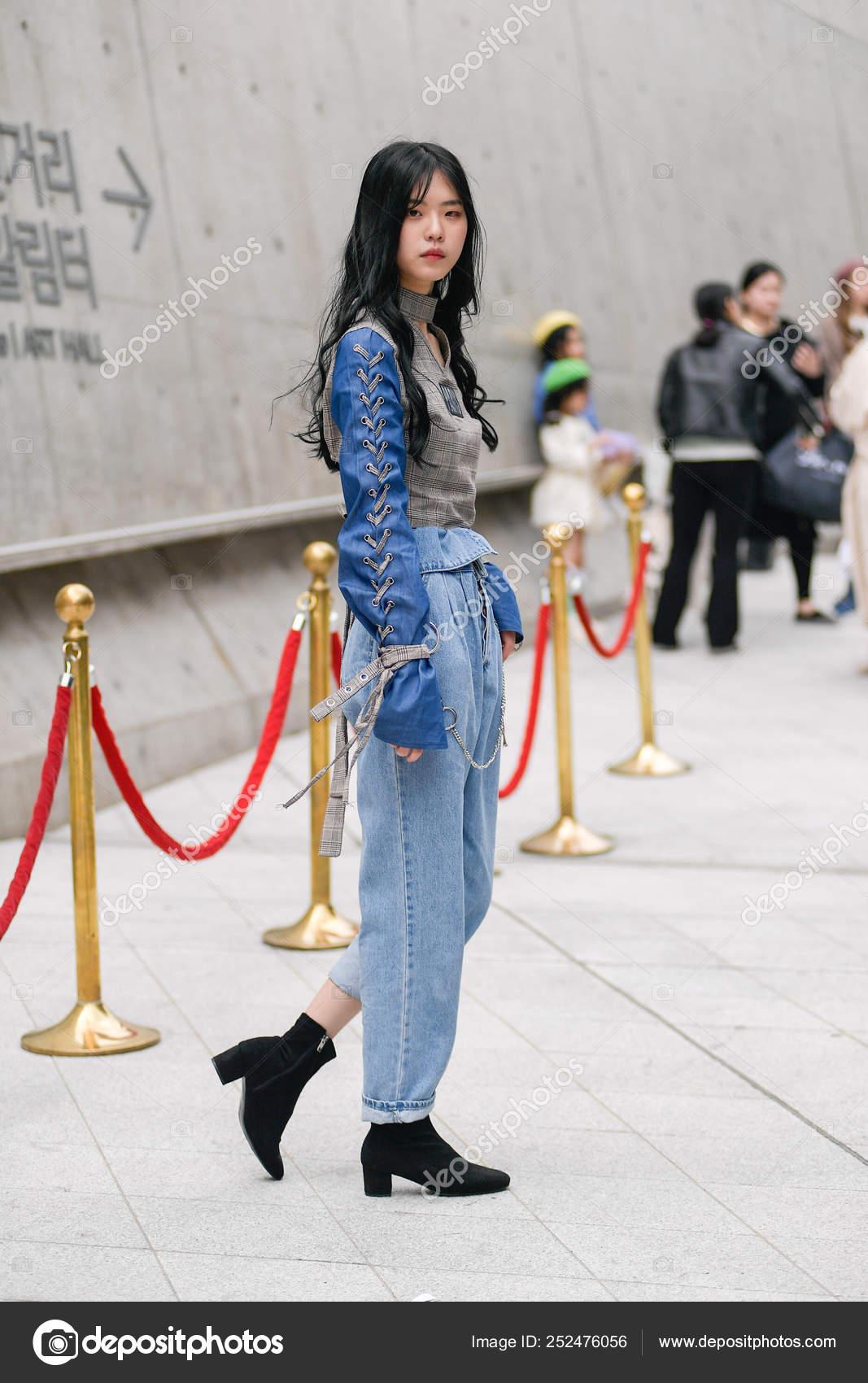 South Korea 2019 Fall Winter Seoul Fashion Week Stock Editorial Photo C Chinaimages 252476056