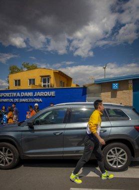 SPAIN BARCELONA RCD ESPANYOL WU LEI