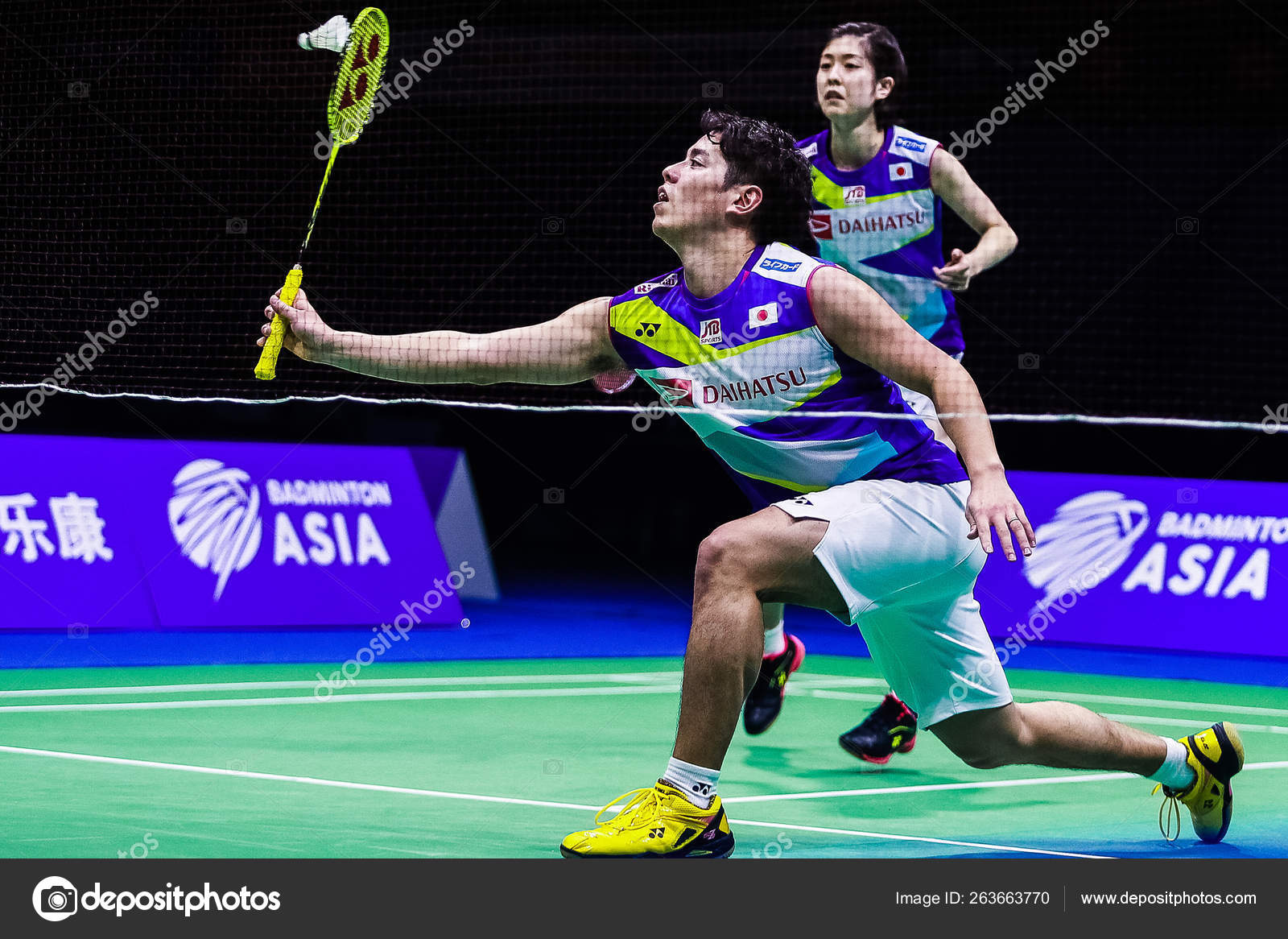 CHINA WUHAN 2019 BADMINTON ASIA CHAMPIONSHIPS – Stock