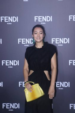 Chinese actress Gong Li attends the Fendi Men's Fall/Winter 2019 Fashion Show in Shanghai, China, 31 May 2019.