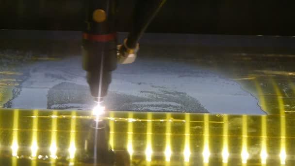 Laserové spékání stroj na kov. 3D tiskárna tisk kovu. Průmyslová revoluce.