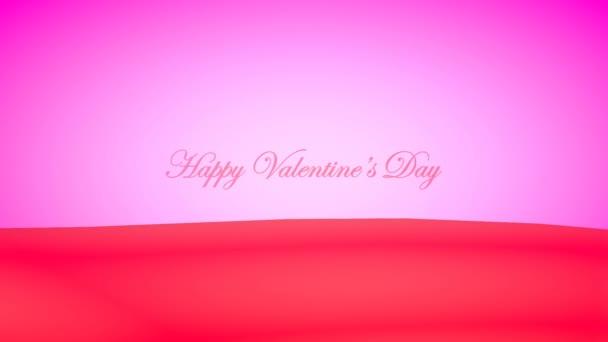 Kreatívan repülő szív a szó  boldog Valentin-napot . Romantikus Valentin-nap, Party, lakodalom stb háttér,