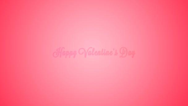 Kreativně létající srdce od slova  Happy Valentine den . Romantické zázemí pro Valentines den, večírek, svatba atd,