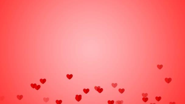 Hurok kreatív repülő szív háttér. Csatlakoztatott úszó szívét. Romantikus Valentin-nap, Party, lakodalom stb háttér,