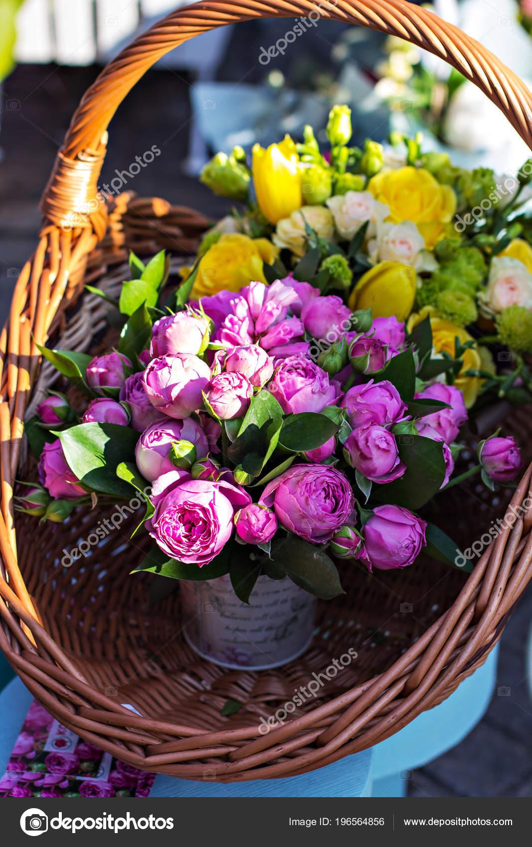 Bouquet Peonies Beautiful Bouquets Flowers Market Showcase Flowers ...