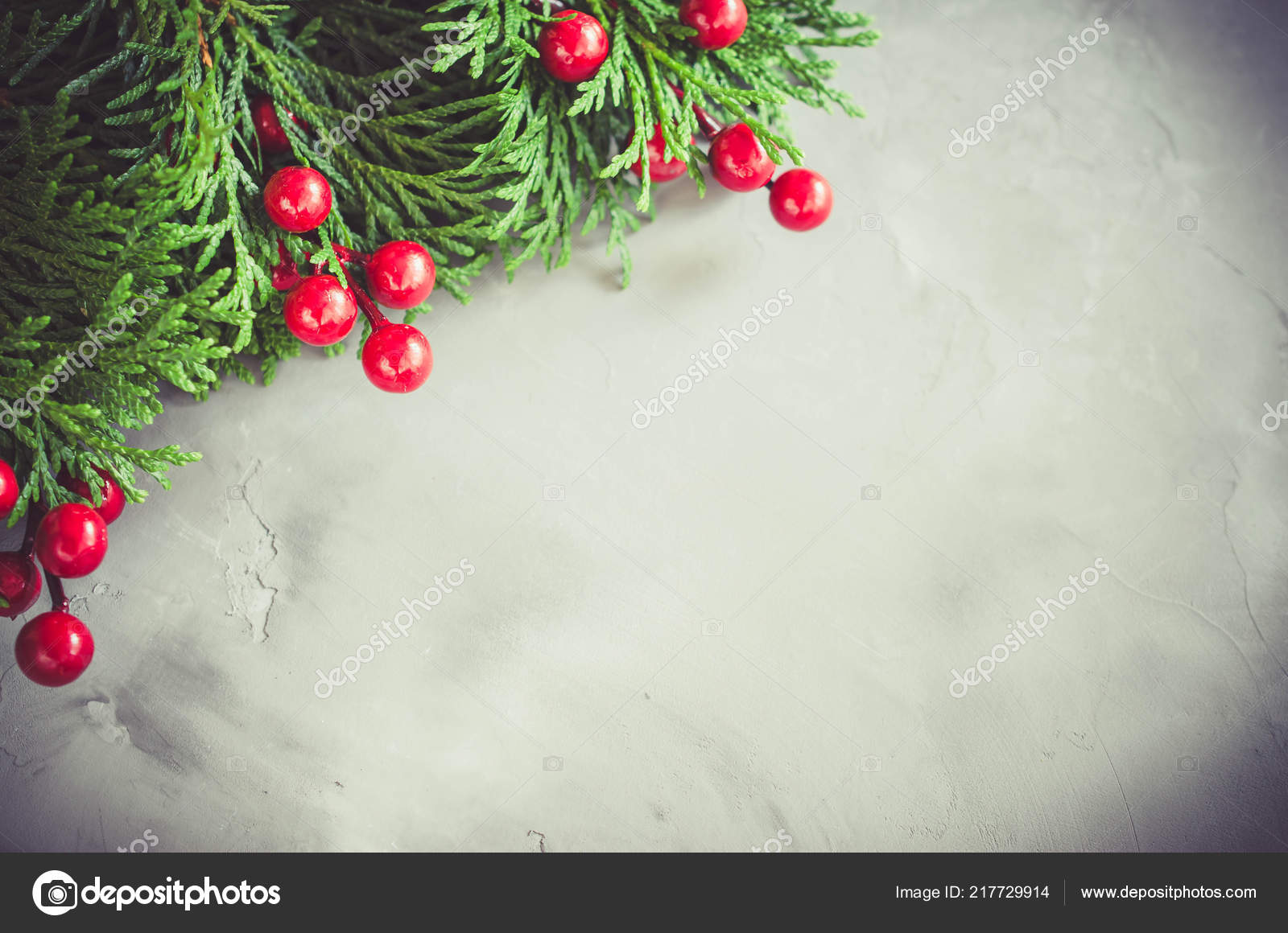 Christmas Background Xmas Fir Branches Red Bells Christmas Banner