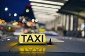 Osvětlení taxi znak