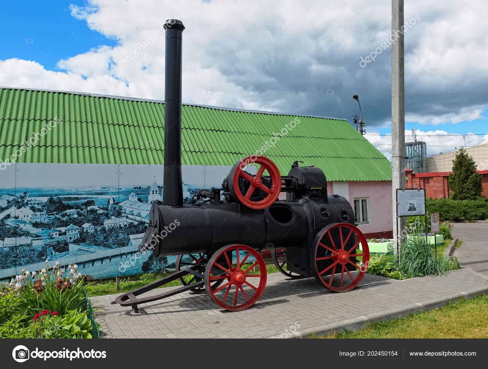 Kolomna Russia June 2018 Locomobile Steam Engine Used