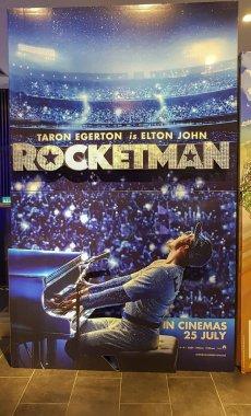 Rocketman movie poster, Rocketman is a biographical musical film based on the life of musician Elton John