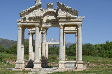 Afrodisias ancient city ruins, turkey