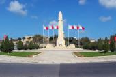 The World War Memorial in Floriana, Valletta, Malta