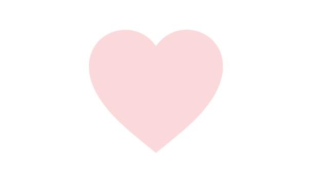 Ojeando Páginas Forma Corazón Color Rosa Animación — Vídeo de stock ...