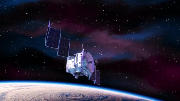 Laser Weapon Destroys Satellite In Outer Space