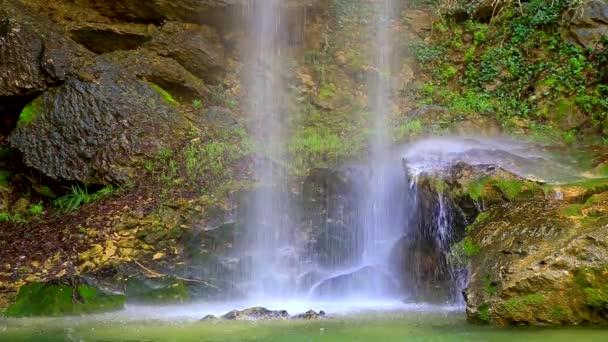 Beautiful waterfall in the mountain