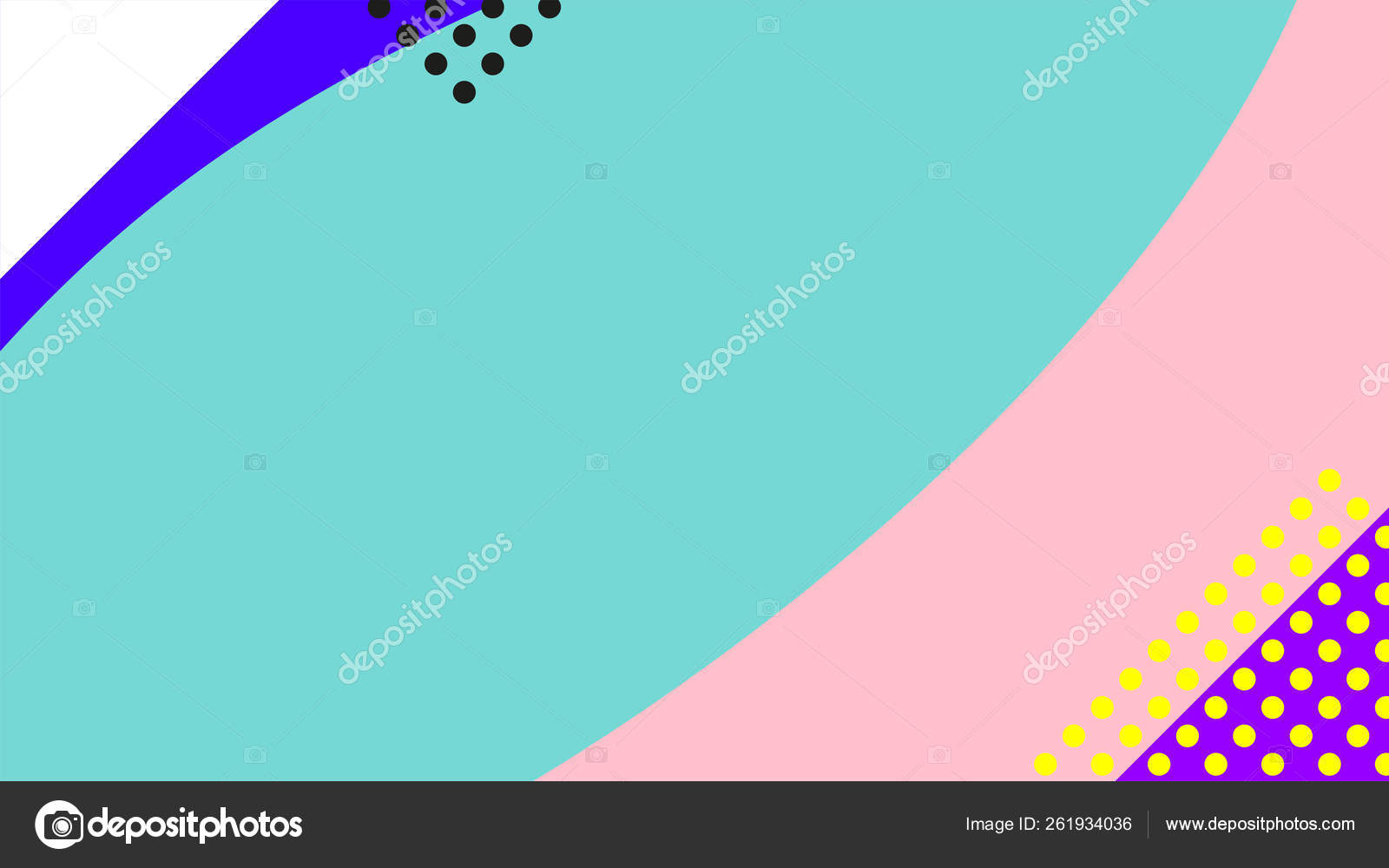 Vaporwave Retrowave Abstract Background Gradient Colorful Shaps Memphis Geometric Elements Stock Vector C V Scaperrotta 261934036