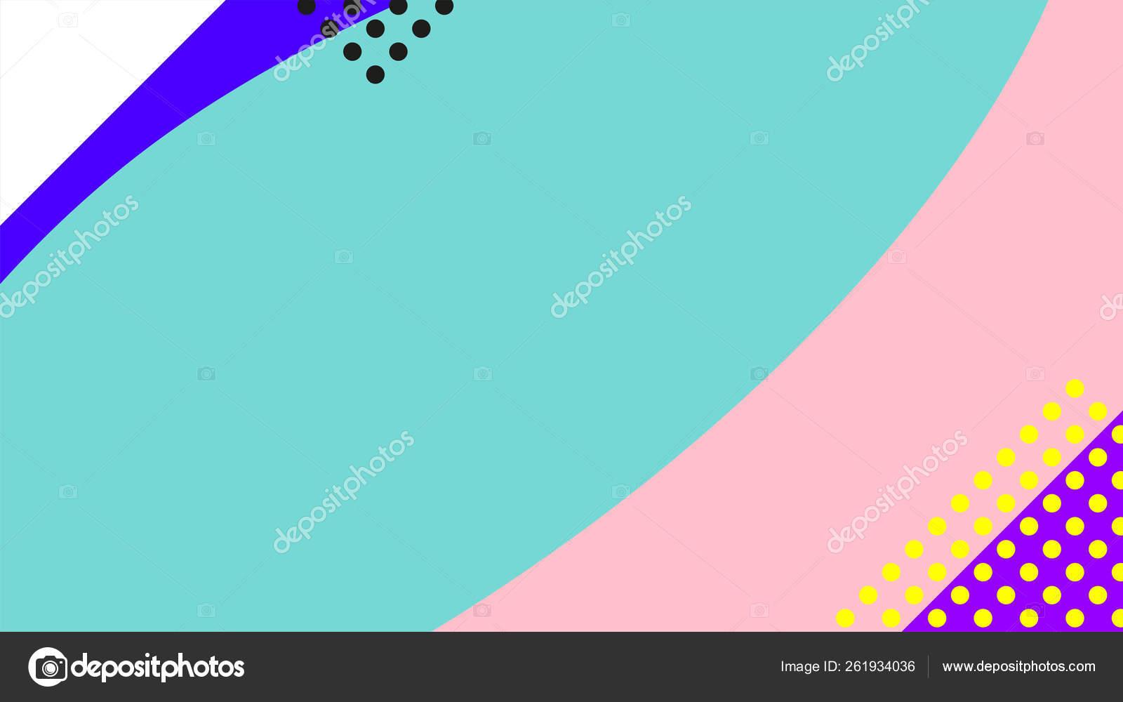 Vaporwave Retrowave Abstract Background Gradient Colorful Shaps Memphis Geometric Elements Stock Vector C V Scaperrotta 261934036