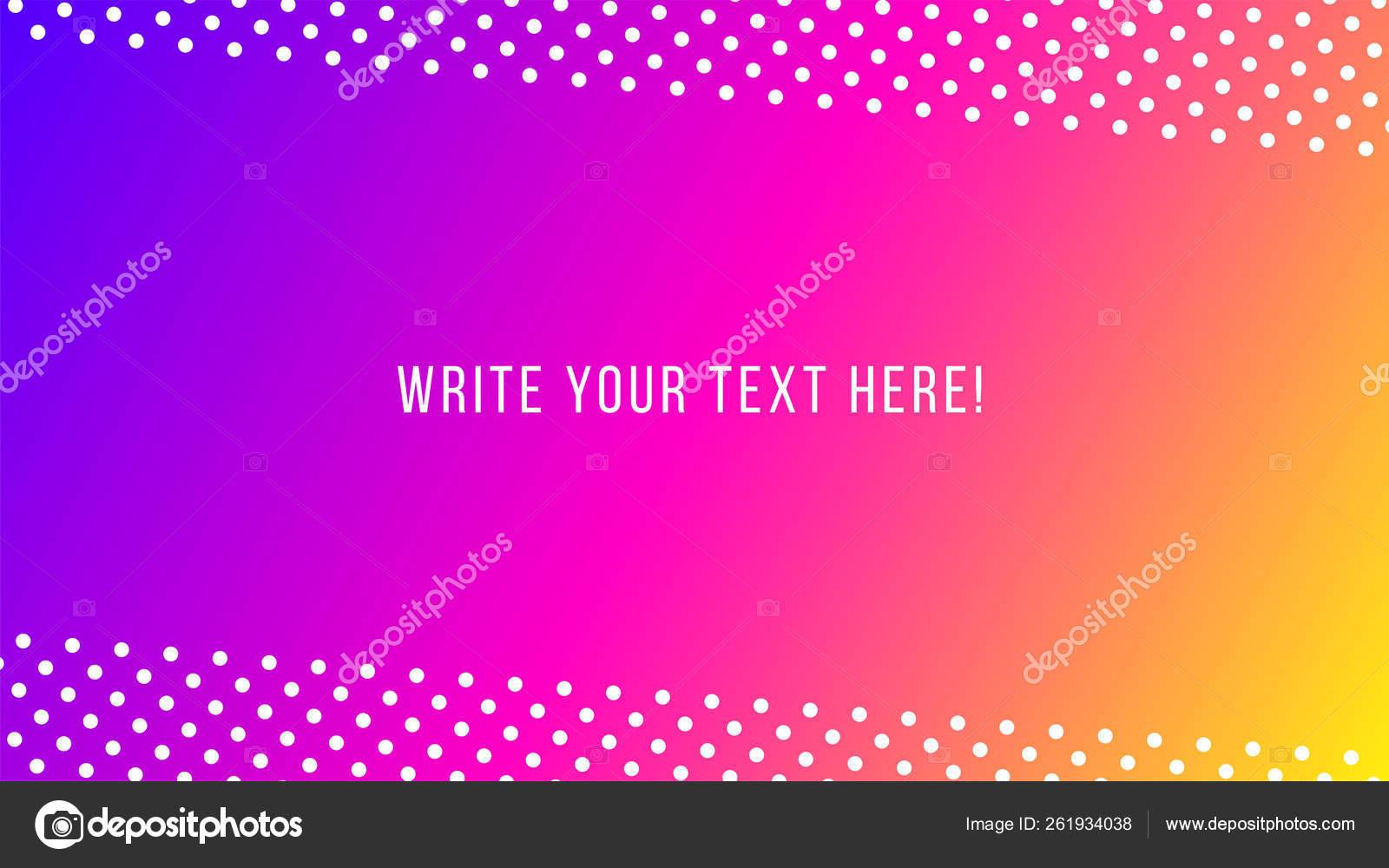 Vaporwave Retrowave Abstract Background Gradient Colorful Shaps Memphis Geometric Elements Stock Vector C V Scaperrotta 261934038