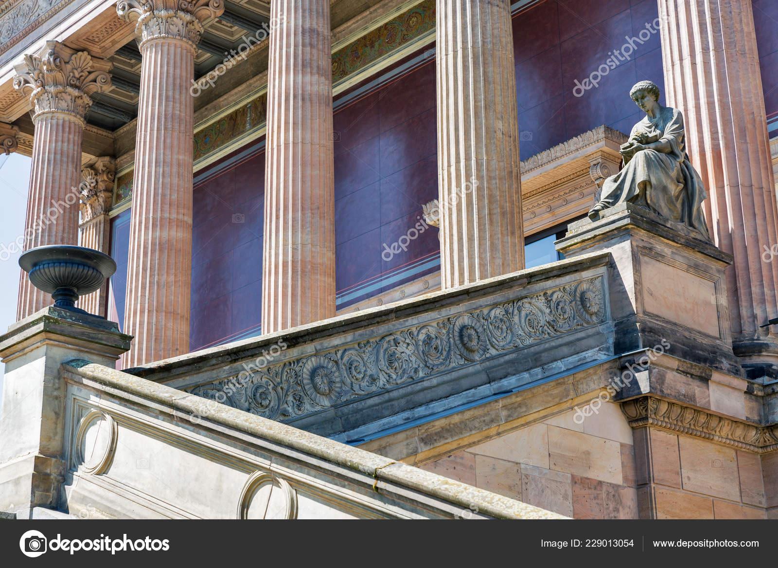 Photo De Galerie Exterieur extérieur bâtiment ancienne galerie nationale berlin