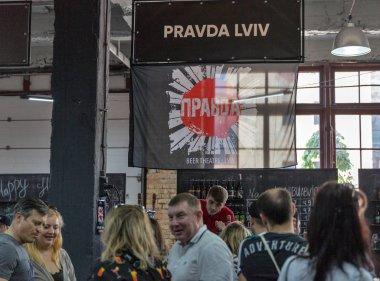 Kyiv Beer Festival at Art Zavod Platforma in Kyiv, Ukraine.