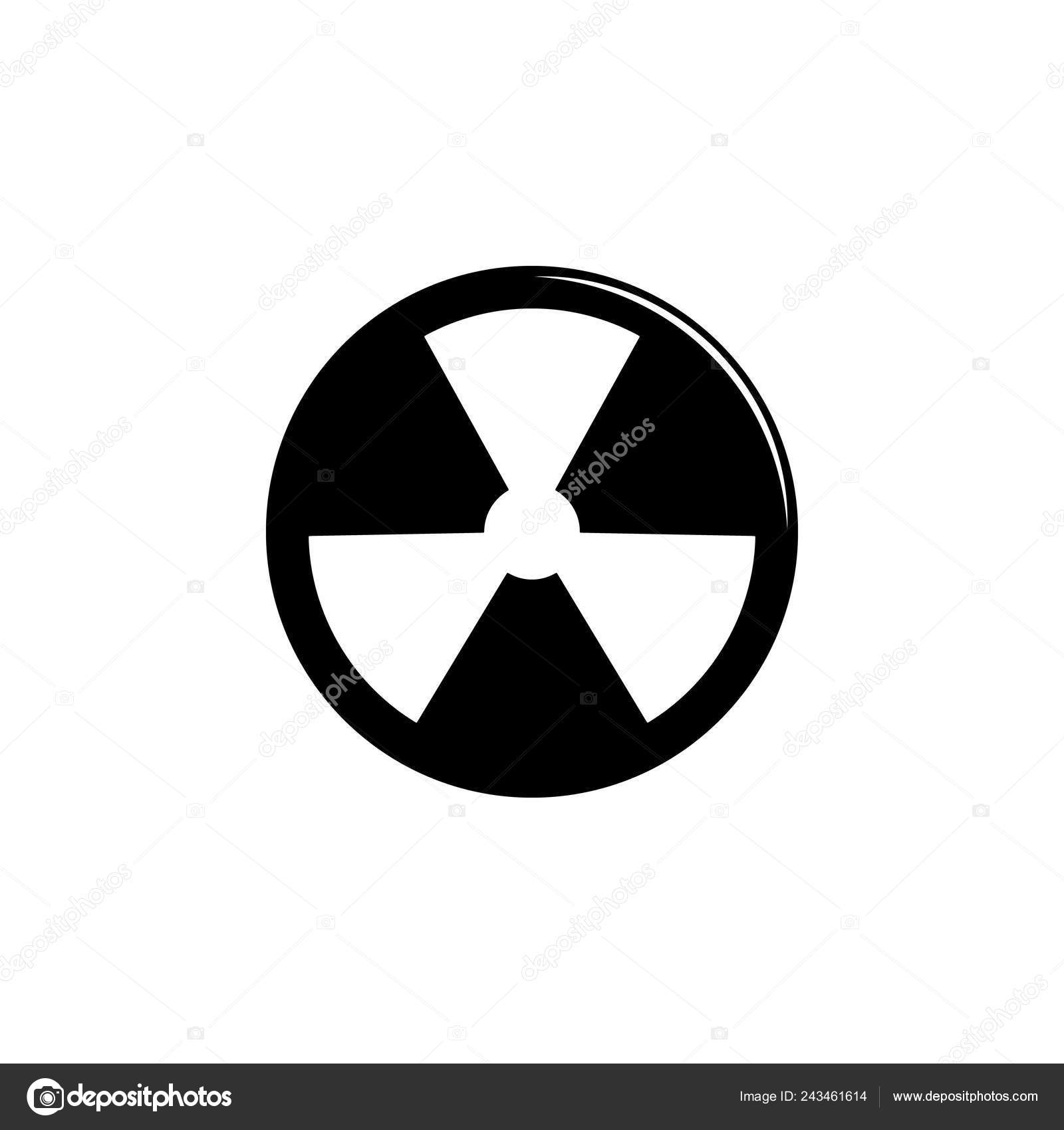 Weapon Radiation Icon Element Military Illustration Signs