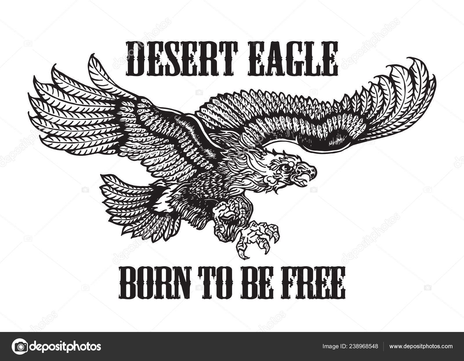 vintage american eagle tee shirt graphic vector illustration isolated eps ⬇  vector image by © ihor.k | vector stock 238968548  depositphotos