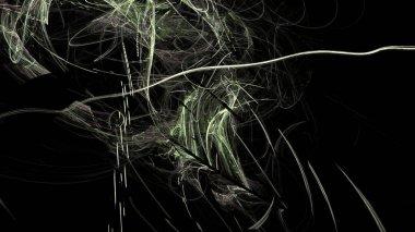 """Картина, постер, плакат, фотообои """"Фантазия хаотических красочные Фрактальный узор. Аннотация фрактальных фигур. 3D визуализация Иллюстрация фон или Обои."""", артикул 241074492"""
