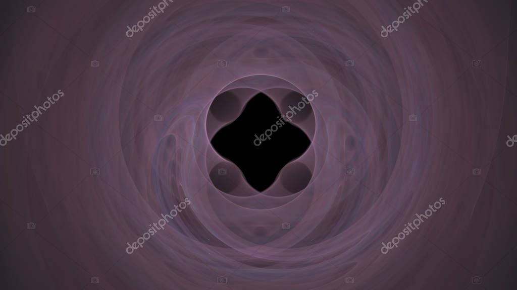 Fantasy chaotic colorful fractal pattern. Abstract fractal shapes. 3D rendering illustration background or wallpaper.