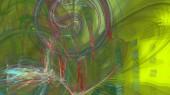 Fantasy kaotikus színes fraktál minta. Absztrakt fraktál alakzatok. 3D rendering illusztráció háttér vagy háttérkép