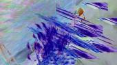 Fantasy chaotické barevné fraktální vzor. Abstraktní fraktální obrazce. 3D vykreslování obrázku pozadí nebo Tapeta