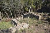 Photo Castellruf Iberian town in Martorelles, Spain. 600 BC to 200 BC.