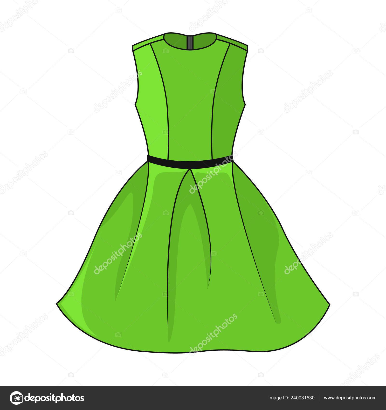 brand new 13d15 429a1 Elegante Abito Verde Icona Bel Vestito Verde Corto Con ...