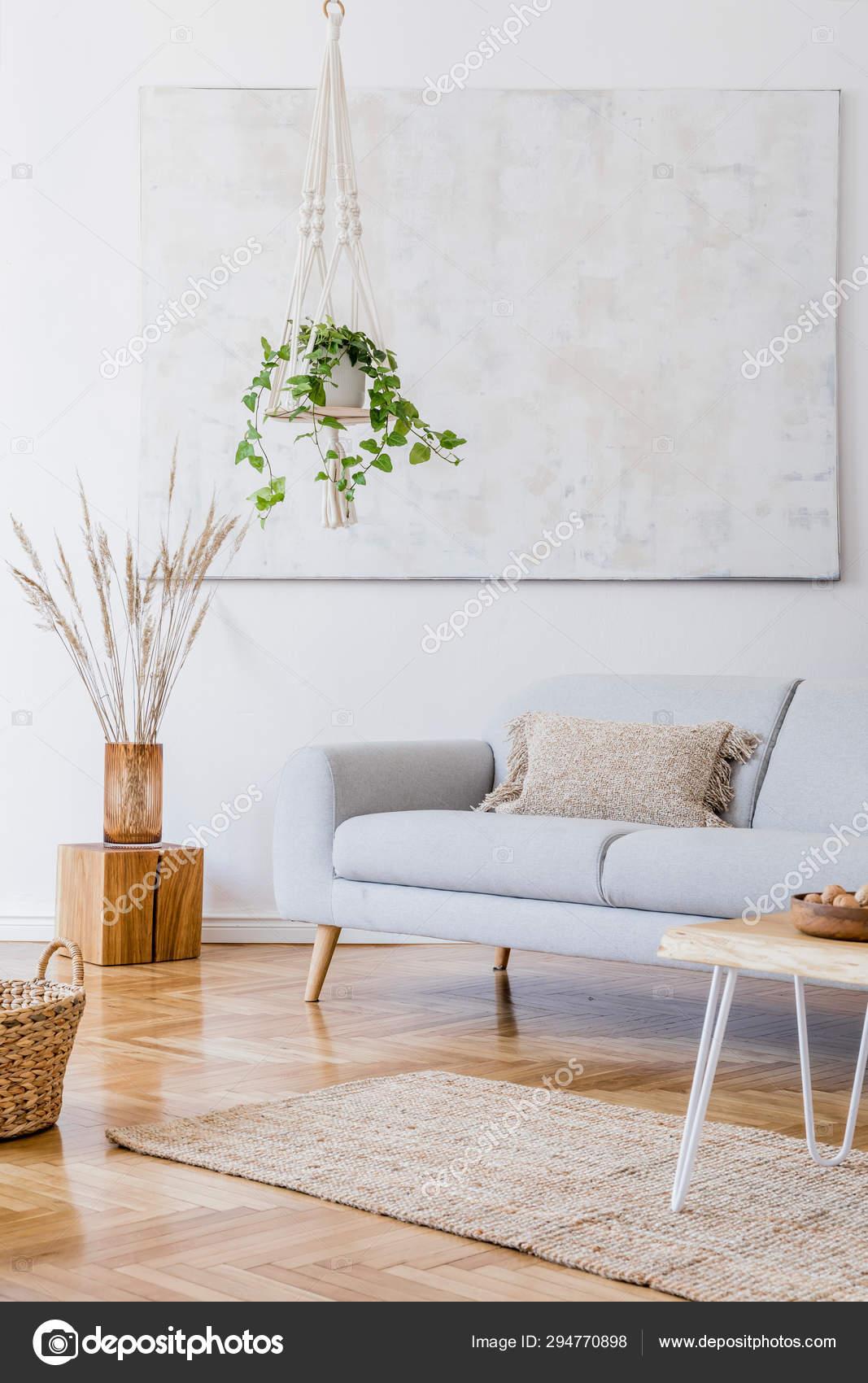 Design Boho Interior Living Room Cozy Apartment Withh