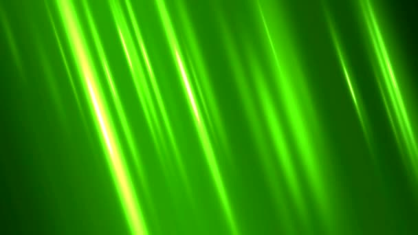 Colorful Diagonal Light Rays Background Animation - Loop Green