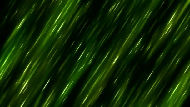 Fast Colorful Diagonal Light Rays Background Animation - Loop Green