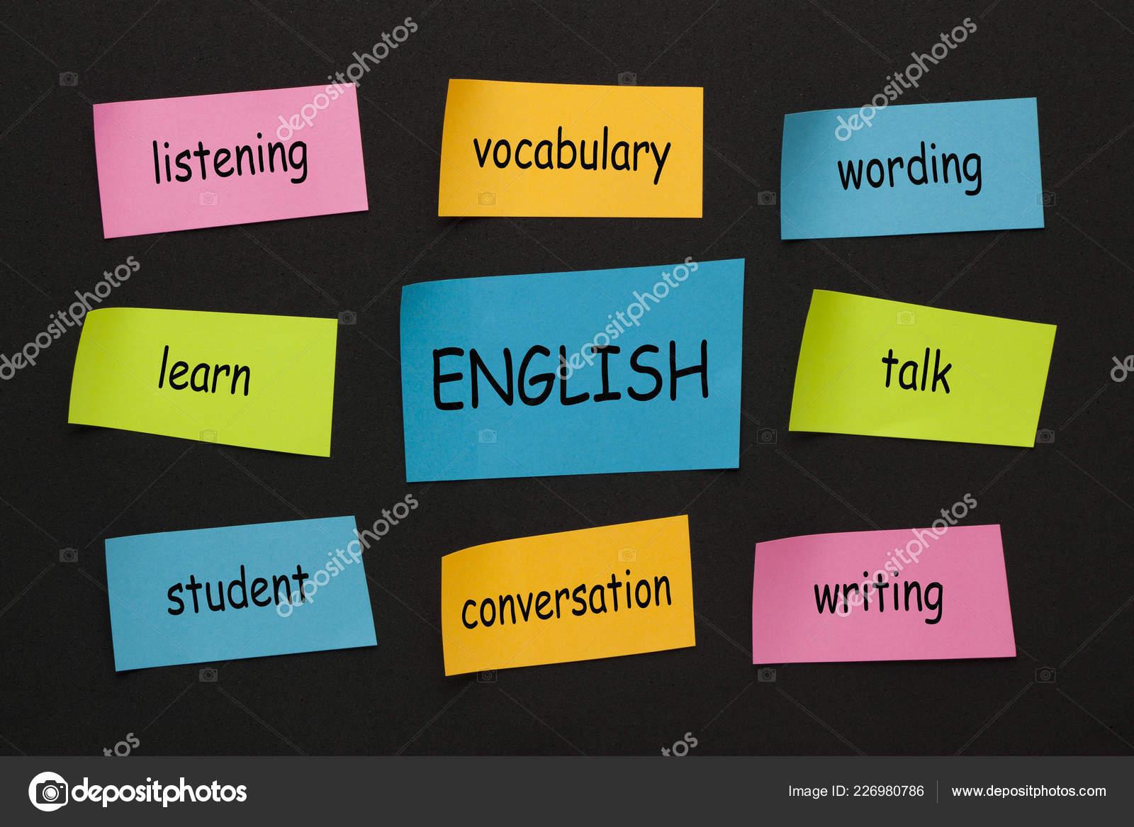 English Language Learning Stickers