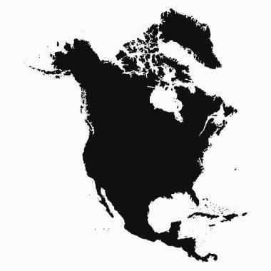 North America Map.