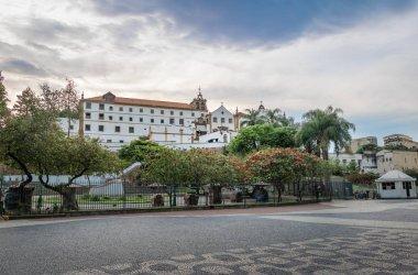 Largo da Carioca and Sao Francisco da Penitencia Church and the Santo Antonio Convent - Rio de Janeiro, Brazil