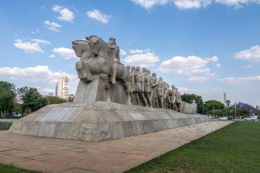 Bandeiras Monument at Ibirapuera Park - Sao Paulo, Brazil