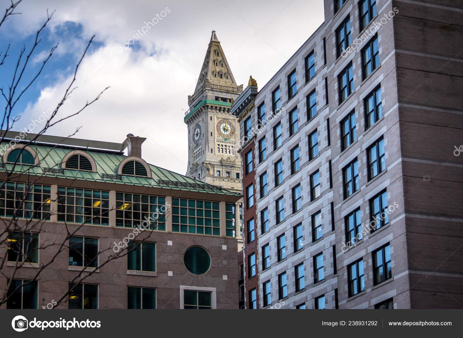 Fotos De Custom House Clock Tower Imagem Para Custom House Clock Tower Melhores Imagens Depositphotos