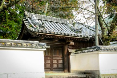 Japanese roof - Kyoto, Japan