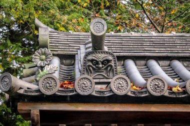 Japanese roof detail - Kyoto, Japan