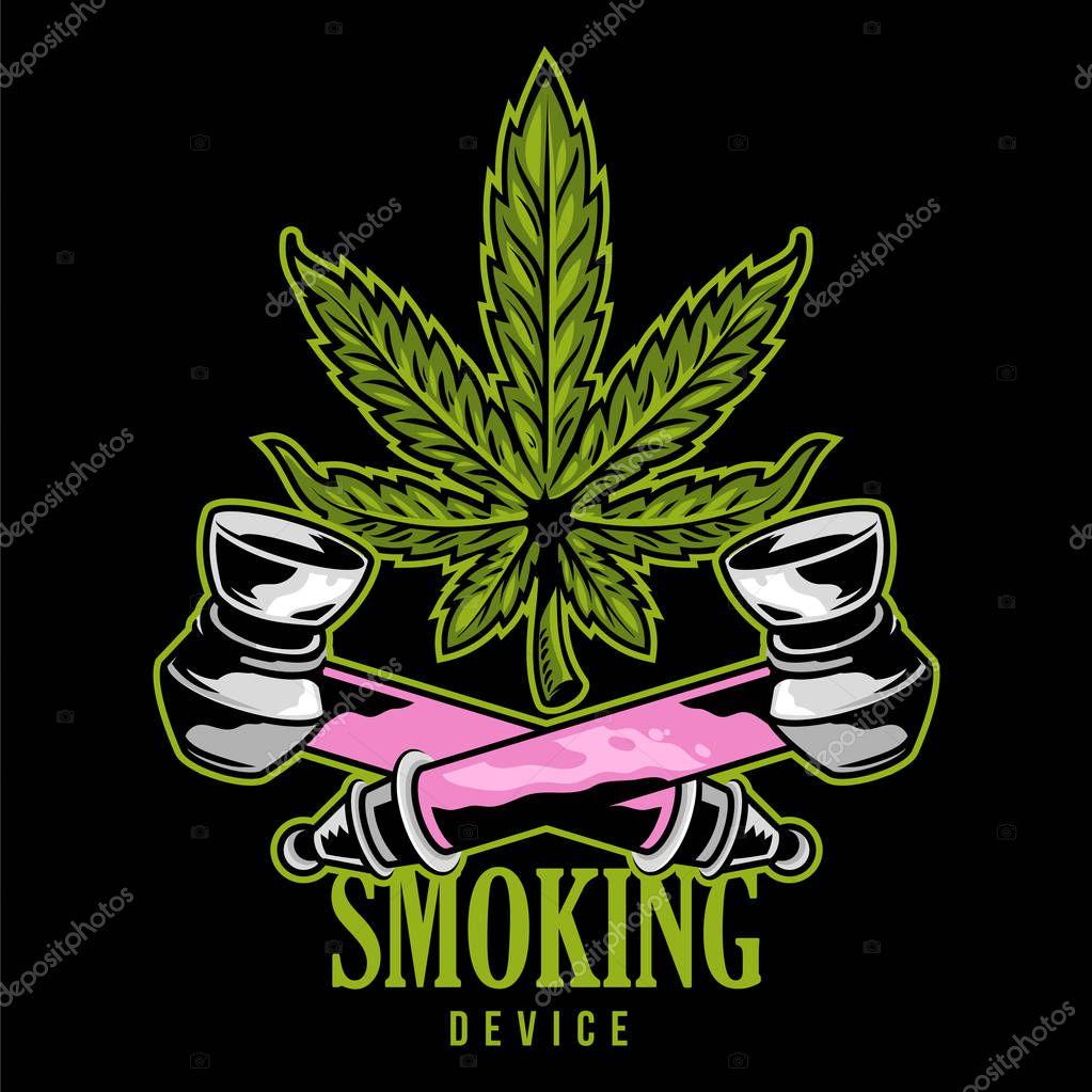 Smoking device print