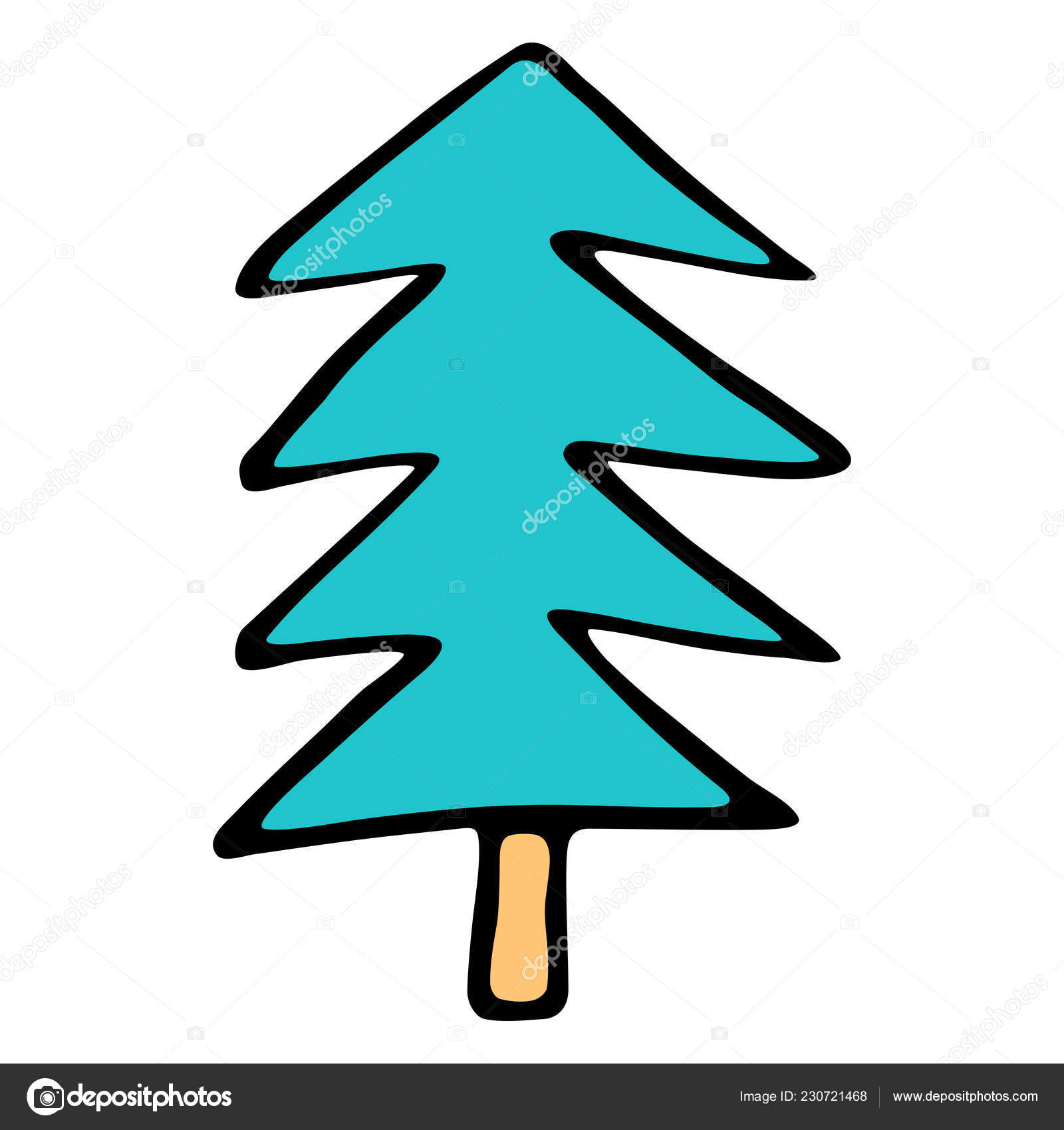 Drawing Of A Christmas Tree Easy.Pictures Christmas Tree To Draw Drawing Christmas Tree