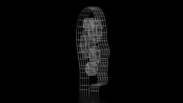 3D-Kopfform, Getriebe - Kreativitätskonzept