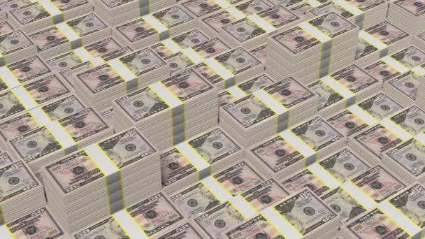 Skládaný padesát dolarové bankovky - Skvělé pro témata, jako je podnikání, financování atd