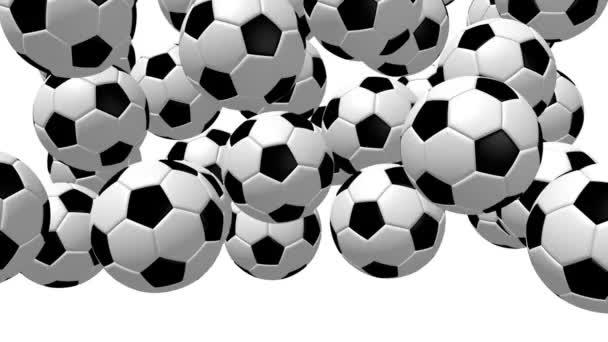 3D csökkenő foci / futball-labda