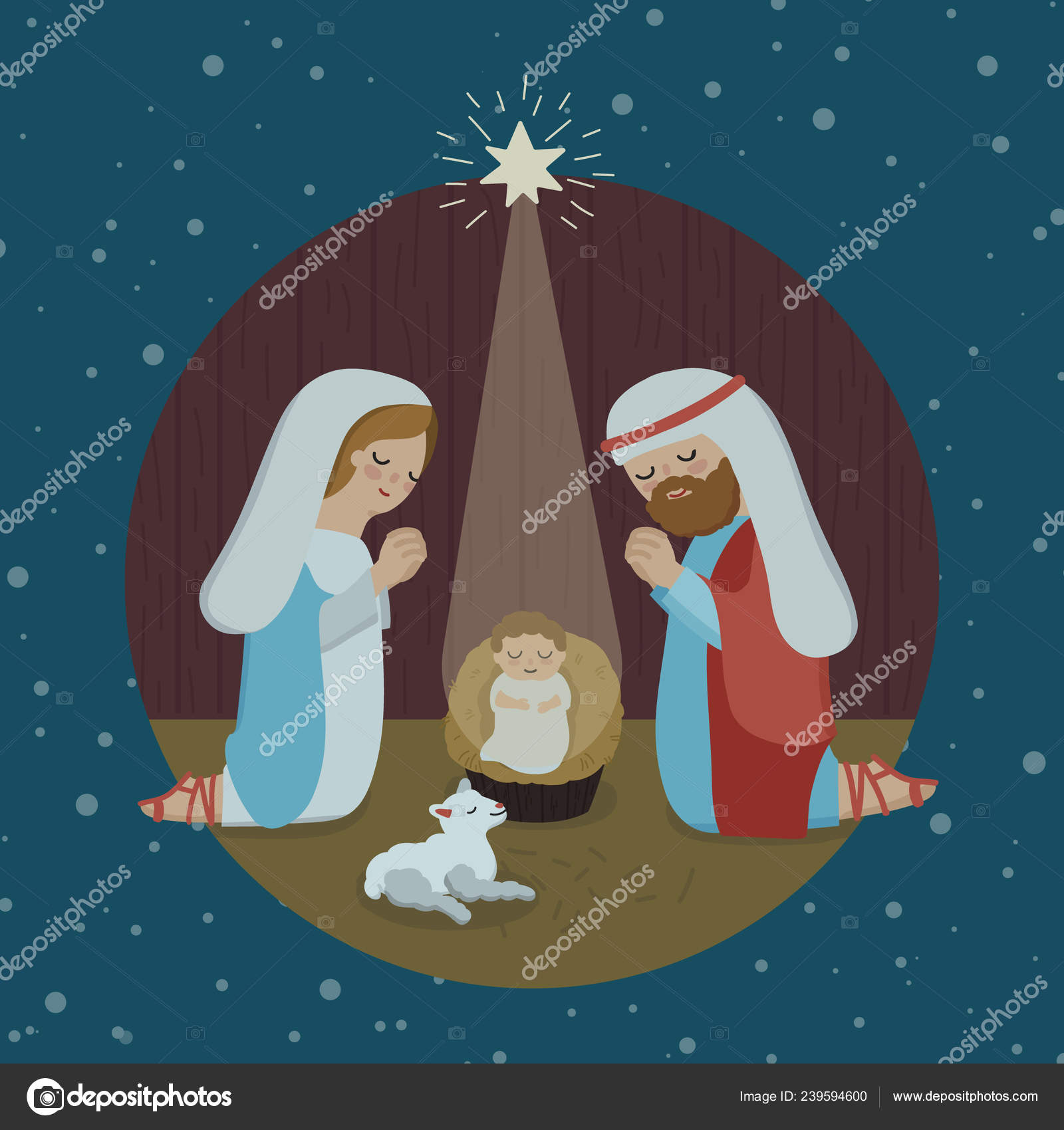 Religious Merry Christmas Images.Merry Christmas Religious Greeting Son God Born Spiritual