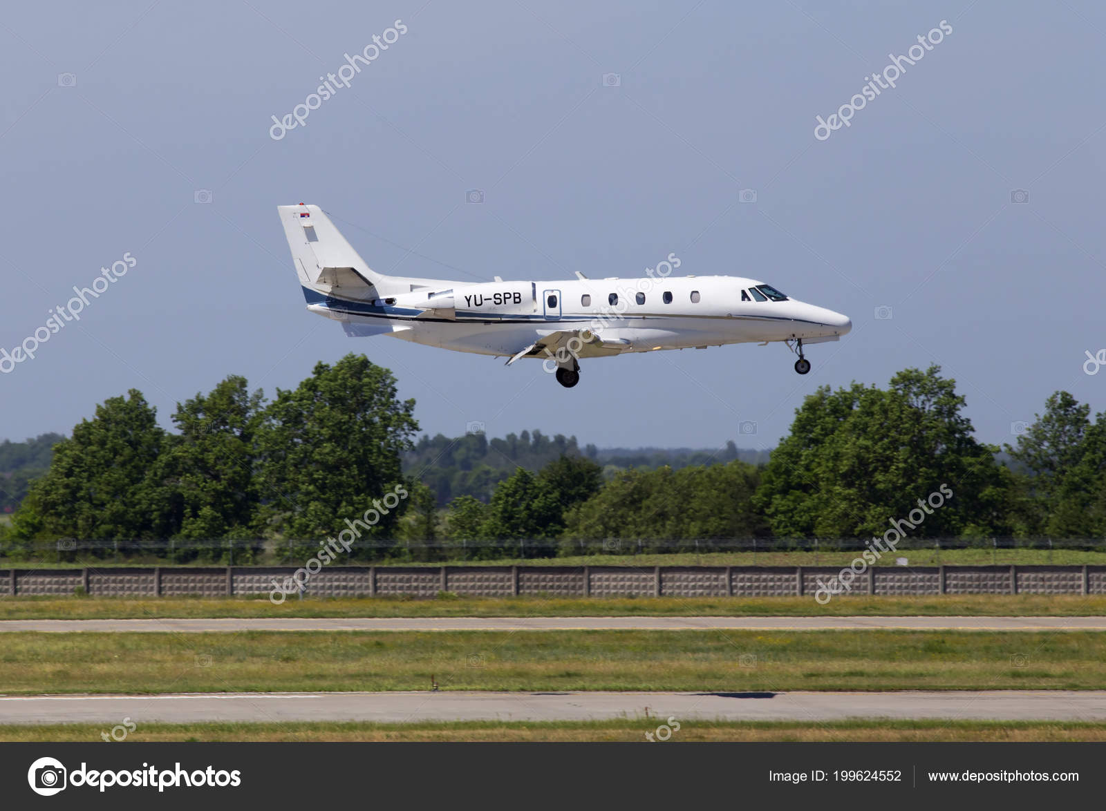 Borispol Ukraine May 2018 Spb Prince Aviation Cessna 560xl